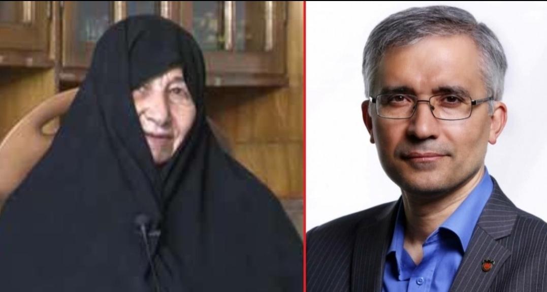 مدیرِ بنفش از جایگاه مادرِ شهید خرازی سوءاستفاده کرد